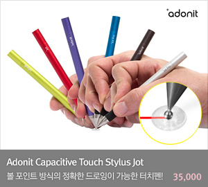 [Adonit] Capacitive Touch Stylus Jot (어도닛 JOT 볼포인트 터치펜)